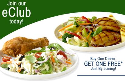 Hometown Buffet Buy 1 Get 1 Free Dinner Text Offer Hip2save