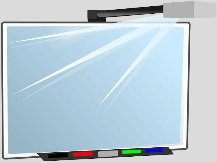 Whiteboard Slide Background White Board Interactive Whiteboard Presentation Format