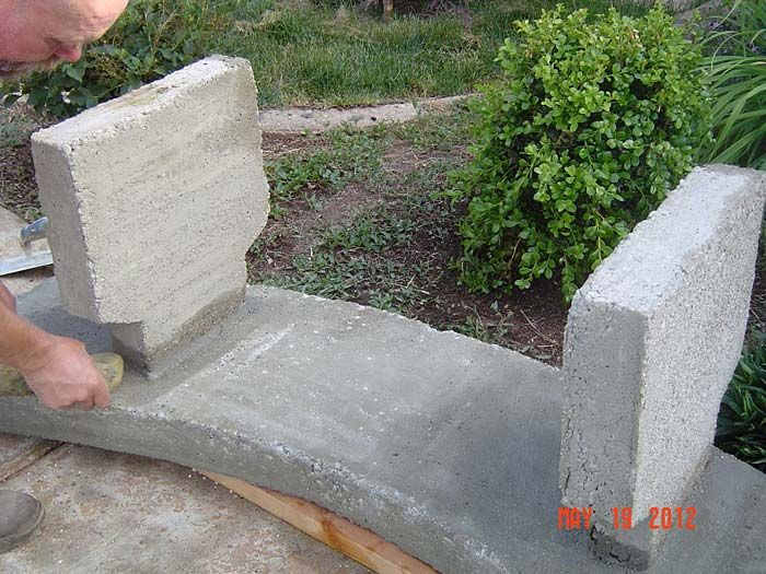 Concrete Bench Ideas Part - 18: Concrete Bench Plans Concrete Bench Plans Scrap Wood Projects As The Cost  Of Lumber Continues To Rise Many Weekend Woodworkers And Hobbyists Are  Looking To ...