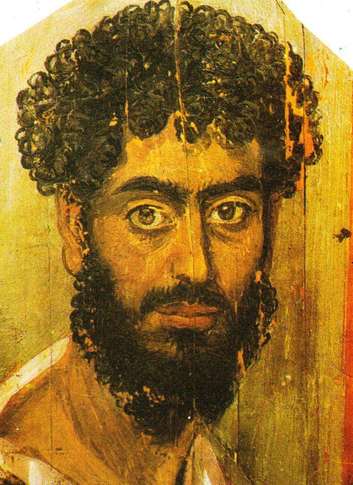 Portrait du Fayoum | Portrait, Ancient paintings, Portrait