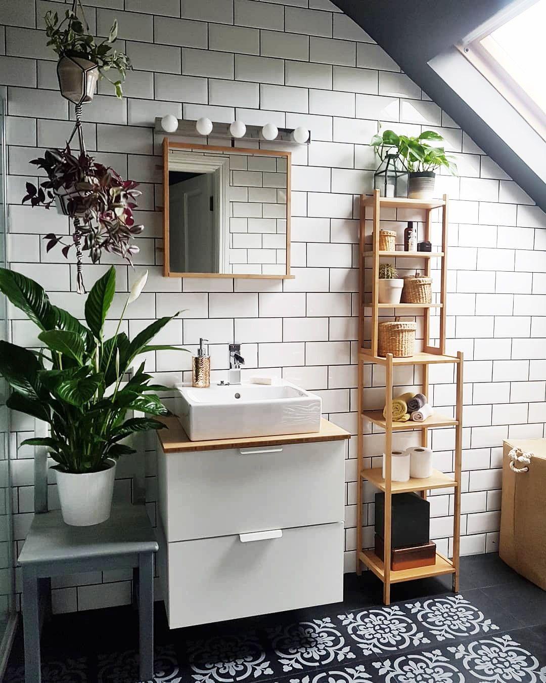Black And White Bathroom Bathroom Interior Design Home Decor Interior