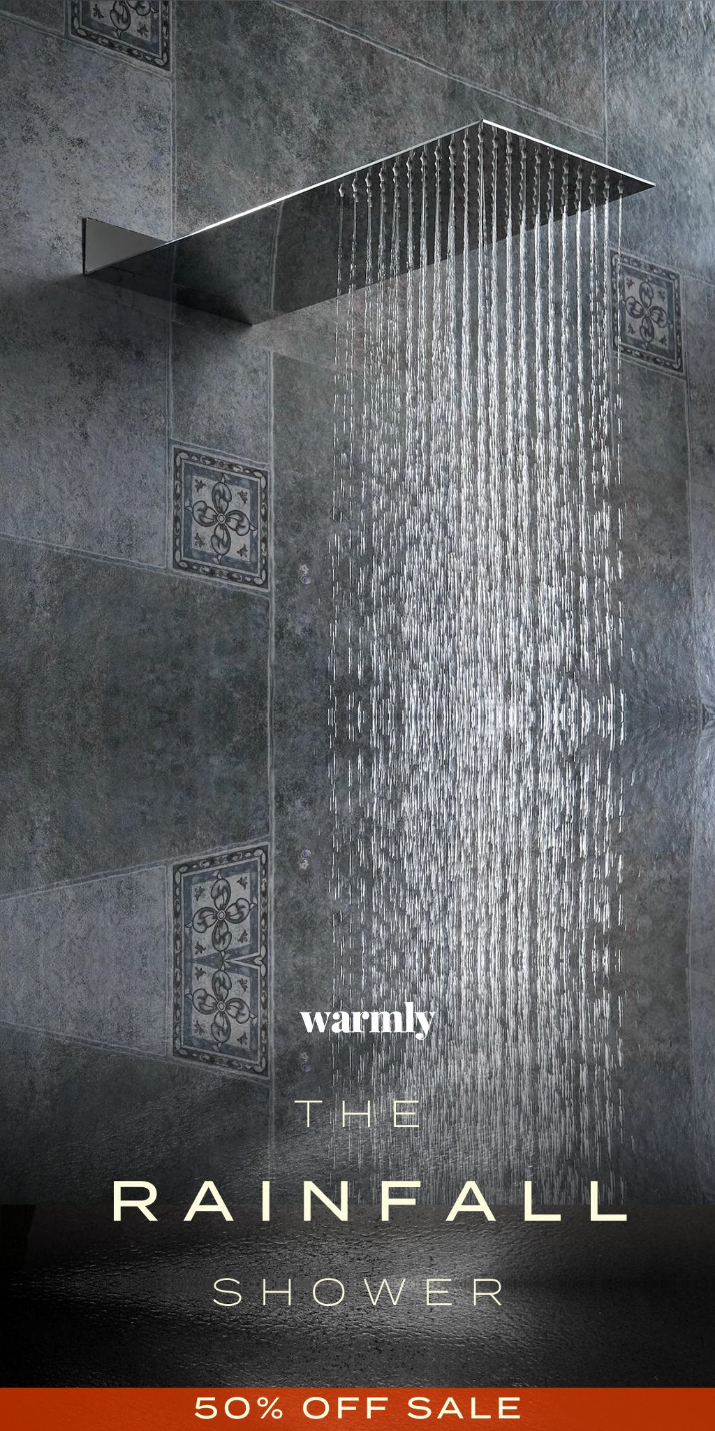 Bahari Rainfall Shower Head In 2020 Rainfall Shower Bathroom