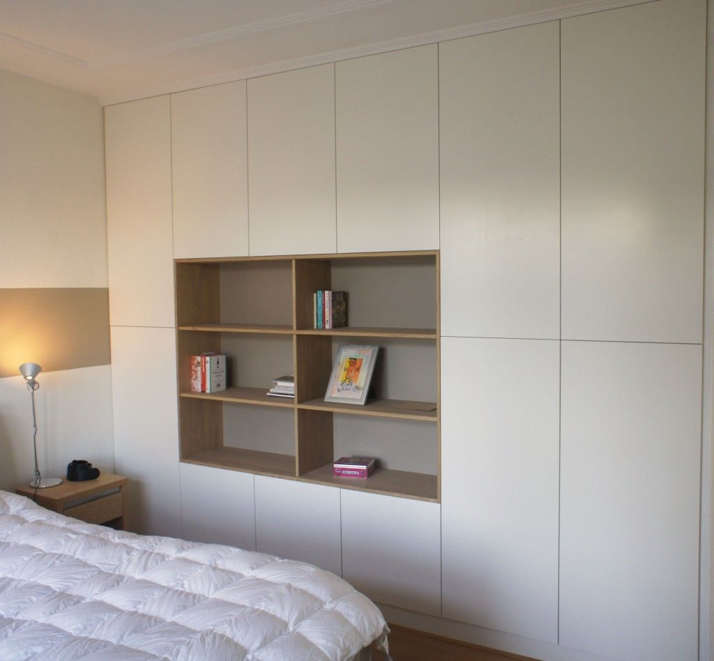 Pin by Nathalie van der Burg on Inbouwkasten | Pinterest | Bedrooms ...
