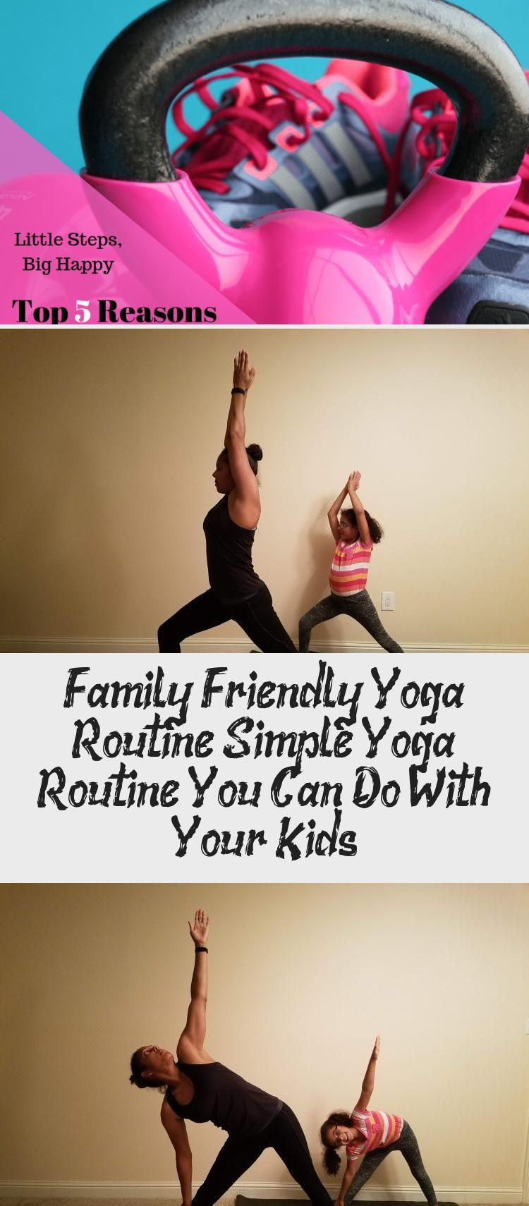 Family Friendly Yoga Routine. A simple yoga routine you can do with your kids. A 15 minute yoga rout...