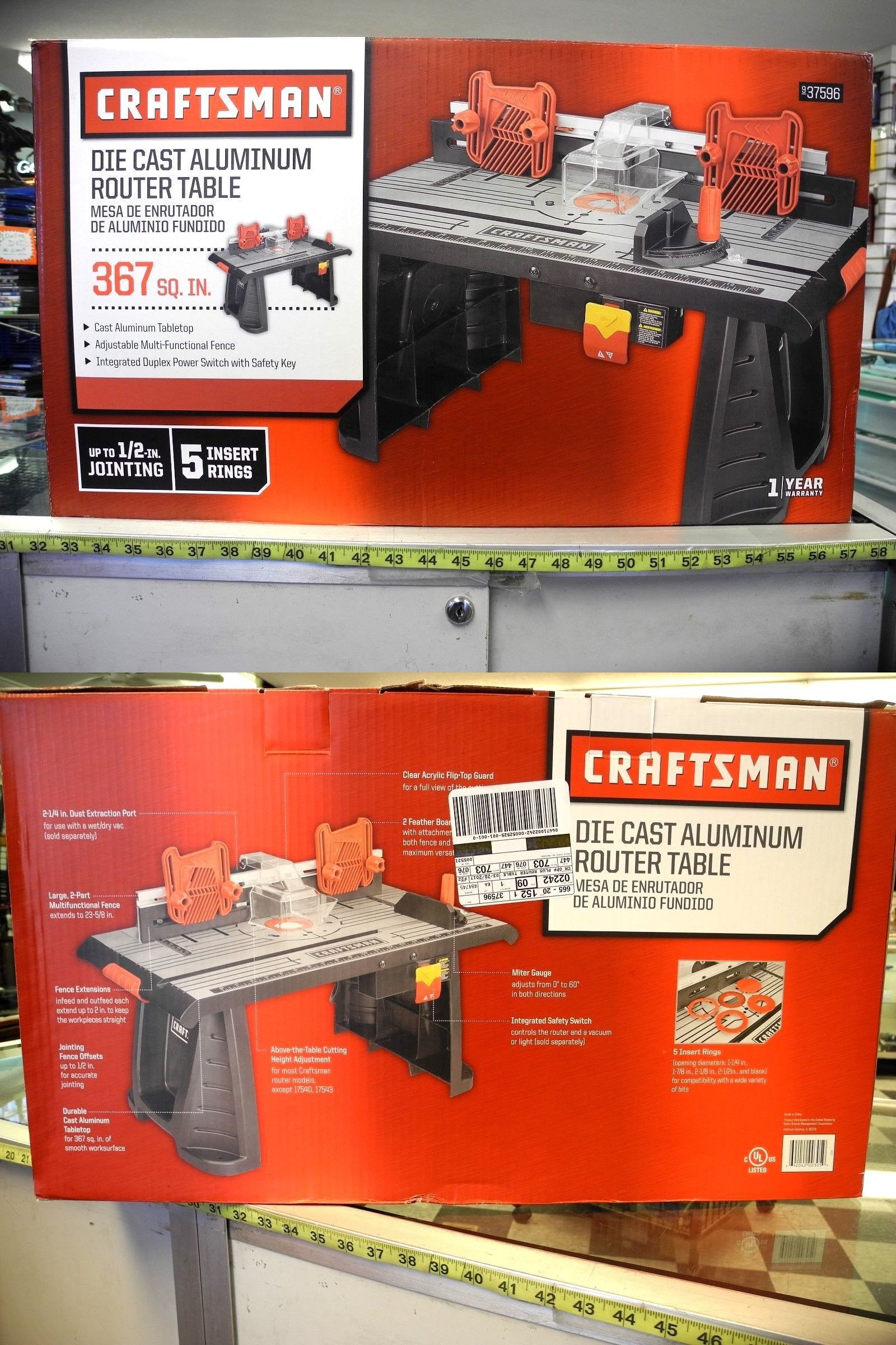 Router tables 75680 craftsman die cast aluminum router table 937596 router tables 75680 craftsman die cast aluminum router table 937596 new buy it keyboard keysfo Images