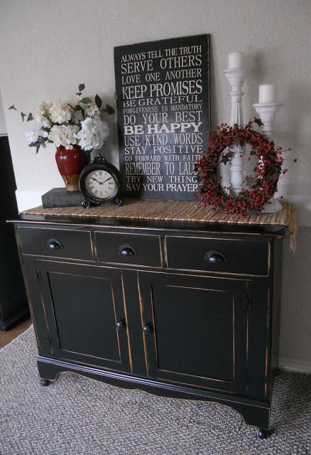 Createinspire Black Buffet Home Decor Dining Furniture