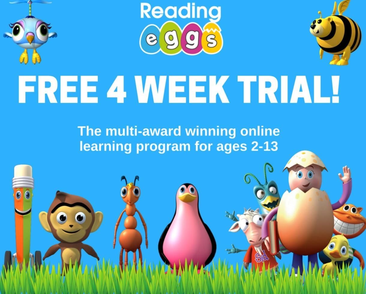 Learn To Read In 4 Weeks Free With Reading Eggs