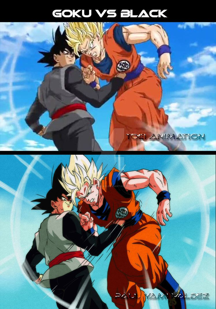 Dragon Ball Super animated in the classic DBZ style! Found