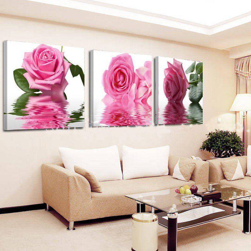 Home Designium on | Flower canvas