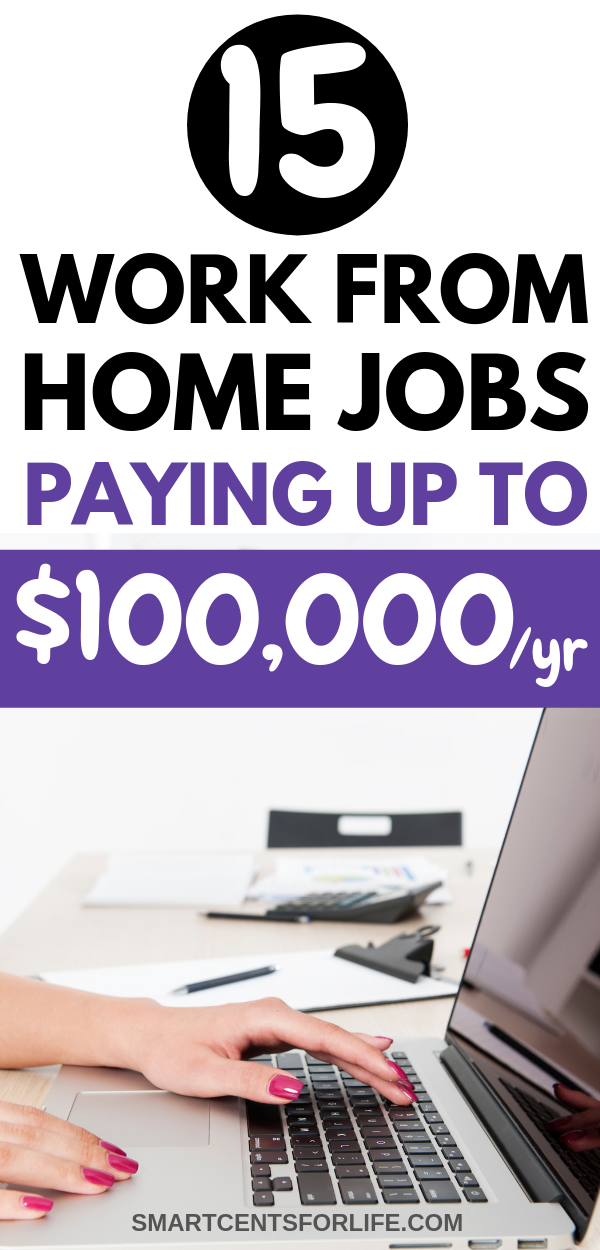 legit ways to work from home 15 legitimate work from home jobs that pay up to 100 000 2240
