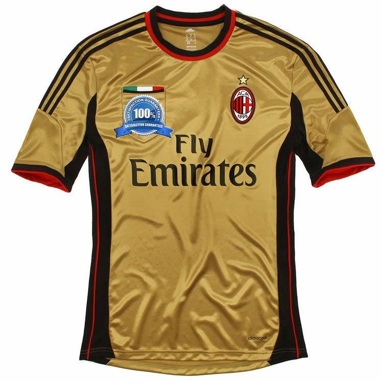 new style 63e49 e45f4 2013-14 AC Milan Third Football Shirt | AC Milan Football ...