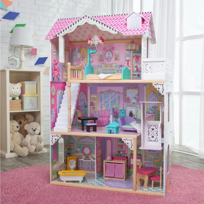 House · Doll House Toys Girls Interior Decorating Game ...