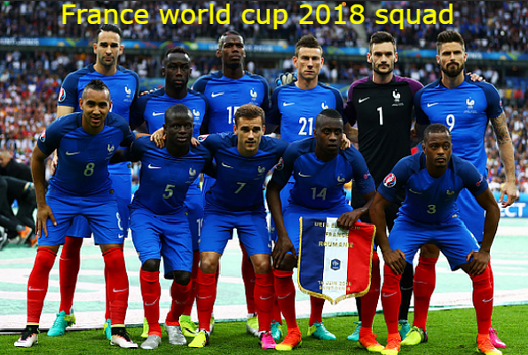 France World Cup Squad 2018 Another Contender For The Title And They Are The World Champions World Football World Cup 2018 Teams France Team