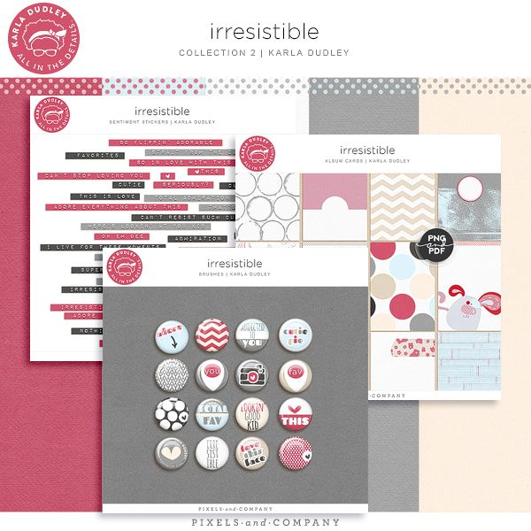 new release friday | irresistible | Karla Dudley Designs ♥