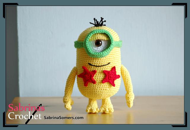Minion Norbert - The Minions - Crochet Pattern - Amigurumi | Crochet ...