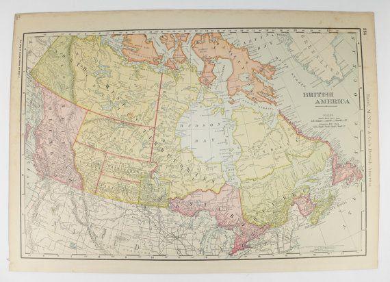 1903 antique canada map hawaii puerto rico map british america 1903 antique canada map hawaii puerto rico map british america map hawaiian gumiabroncs Gallery
