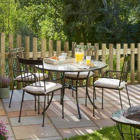 oxford seater garden furniture set wyevale garden centres - Garden Furniture 4 Seater Sets