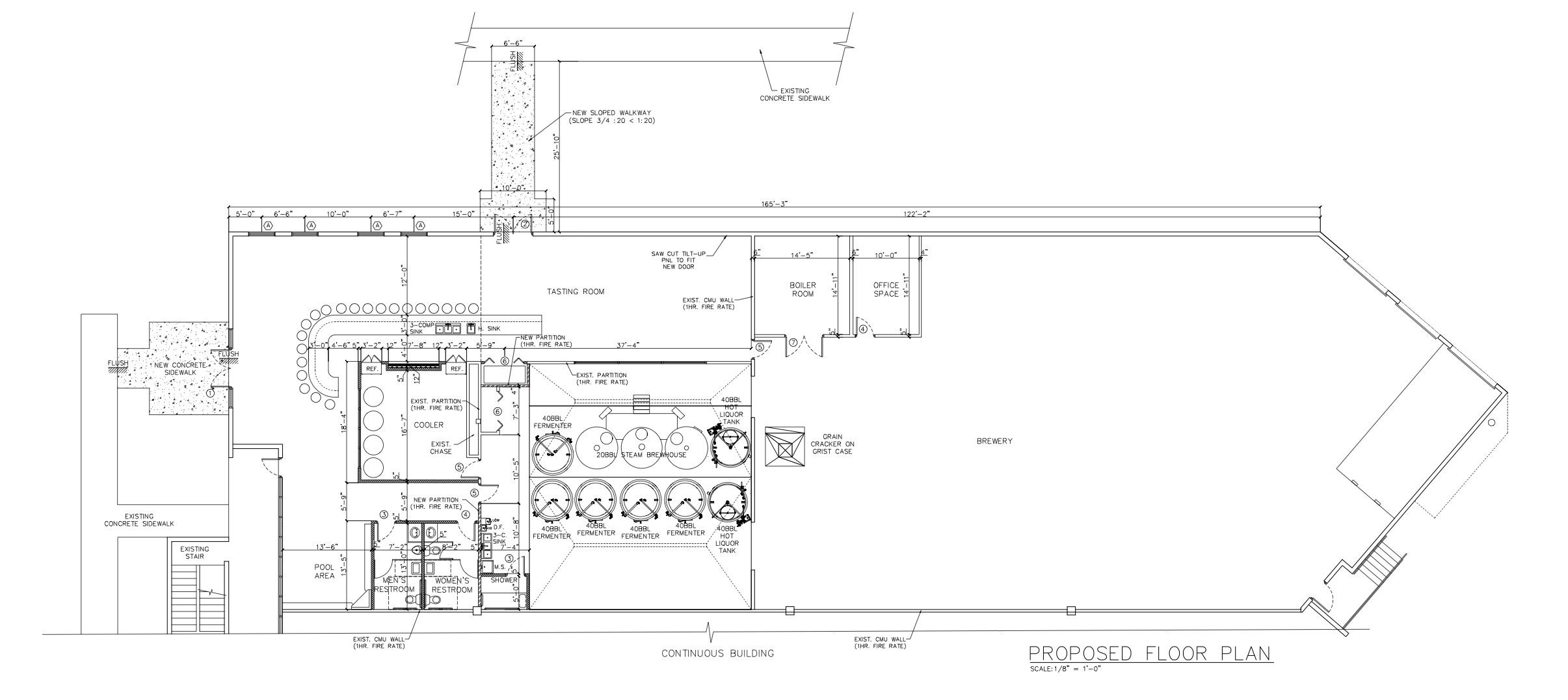 Image result for loading dock dimensions | brewery design ...