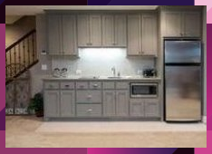 Photo of basement bedroom with fireplace #basementremodelcolors #basementbathroomvanity #…