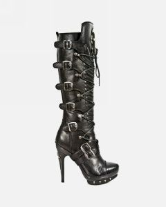 20f93513a24c New Rock - Buckle Boots - Woman - M.PUNK062-S1