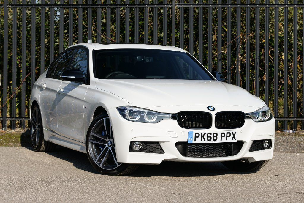 2018 White BMW 3 SERIES 330i M Sport Shadow Edition Saloon