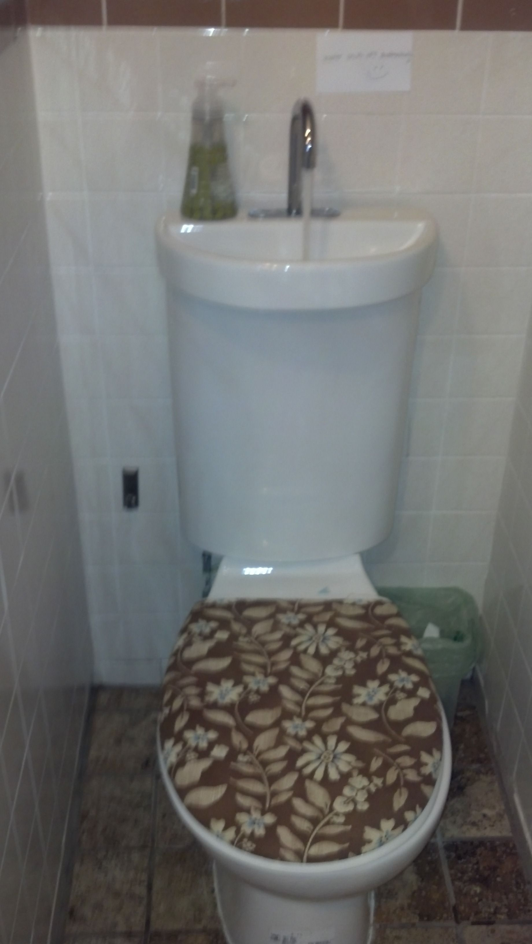 Here is another #oddity. Is this a 1/4 bath? Or is it a 1/2 bath?