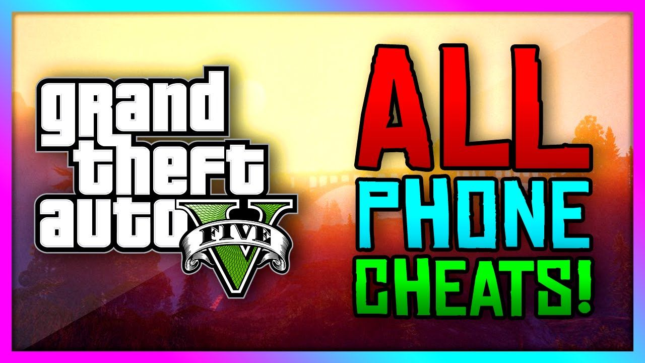 GTA 5 Xbox One / PS4 - ALL New Phone Cheat Codes! Enter