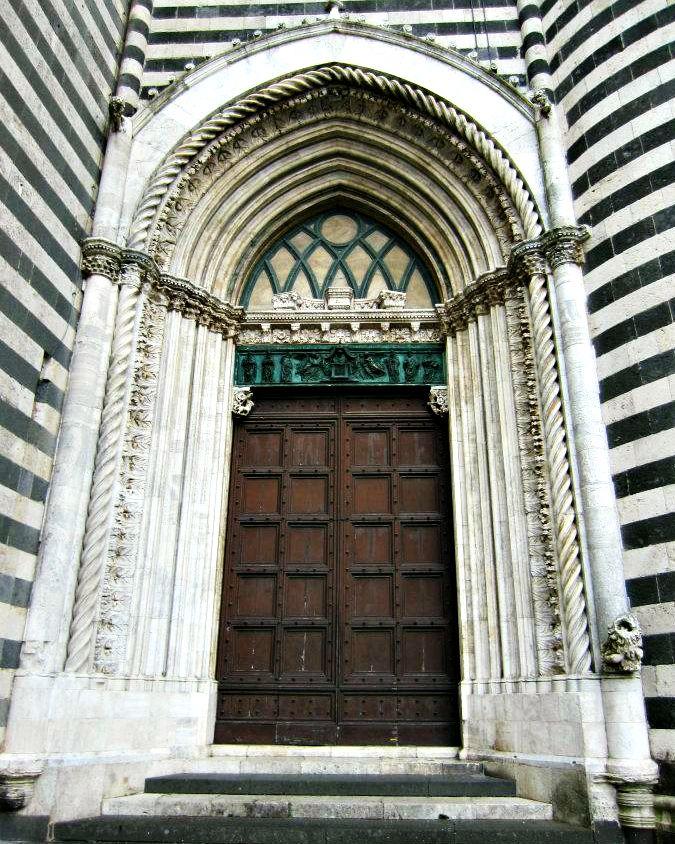 Orvieto Cathedral Door. Special love for Orvieto! Italia