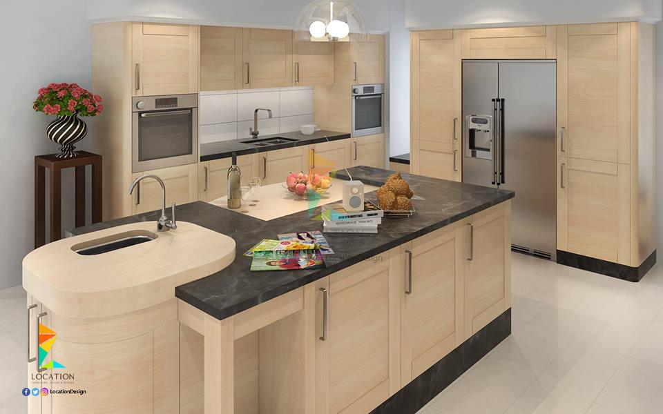 بالصور افضل النصائح عند تصميم مطابخ 2017 2018 لوكشين ديزين نت Kitchen Stylish Decor Decor