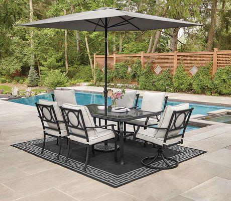 Walmart Patio Table Set With Umbrella