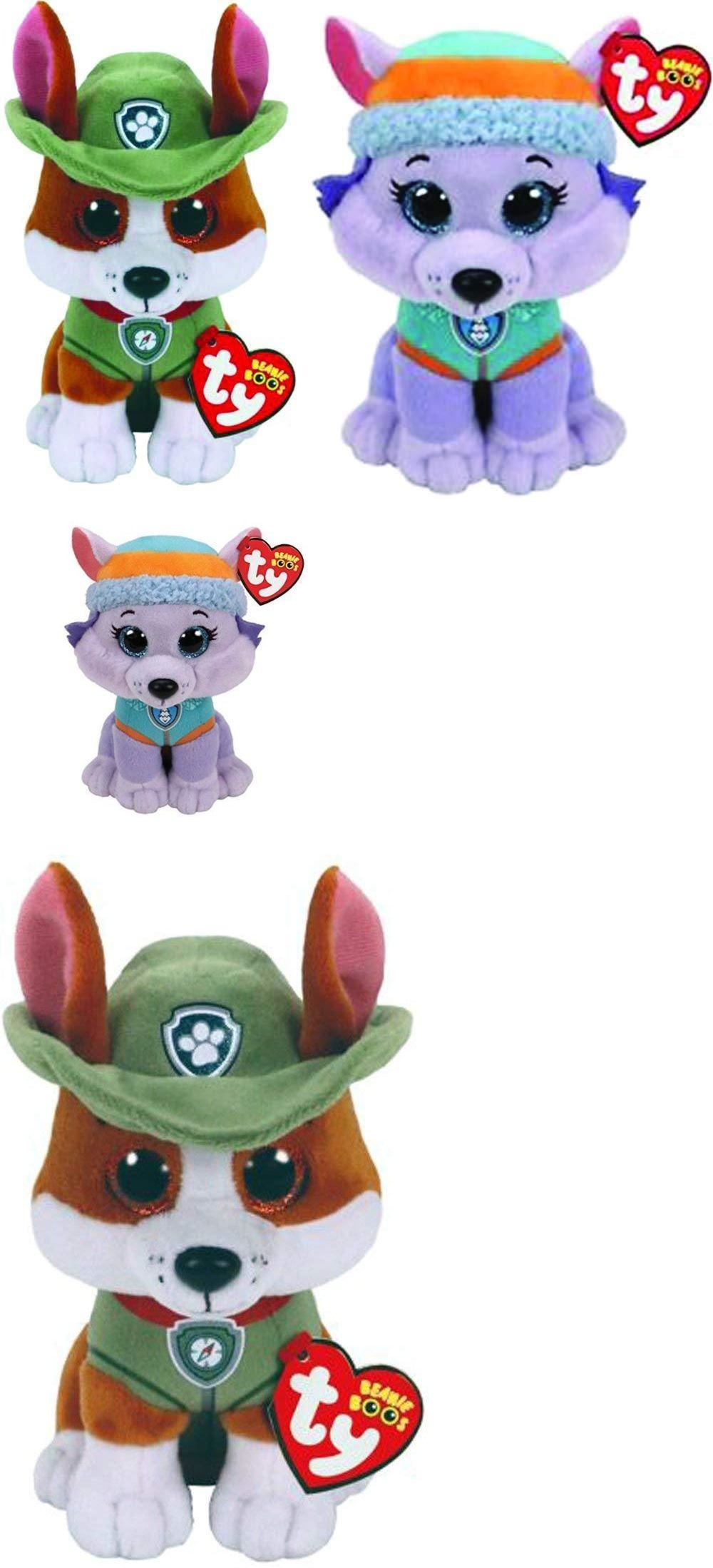 77d2d762b1f Beanie Babies 2 0 165958  Ty Beanie Baby Boo 6 Paw Patrol Everest Husky And Tracker  Chihuahua Dog Plush Set -  BUY IT NOW ONLY   17.9 on eBay!
