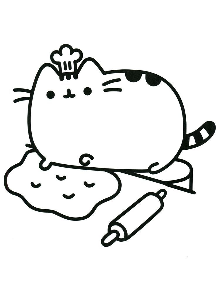 Cat Coloring Pages For Toddlers Below Is A Collection Of Cute Cat Coloring Page Which Y In 2020 Pusheen Coloring Pages Cat Coloring Page Kids Printable Coloring Pages