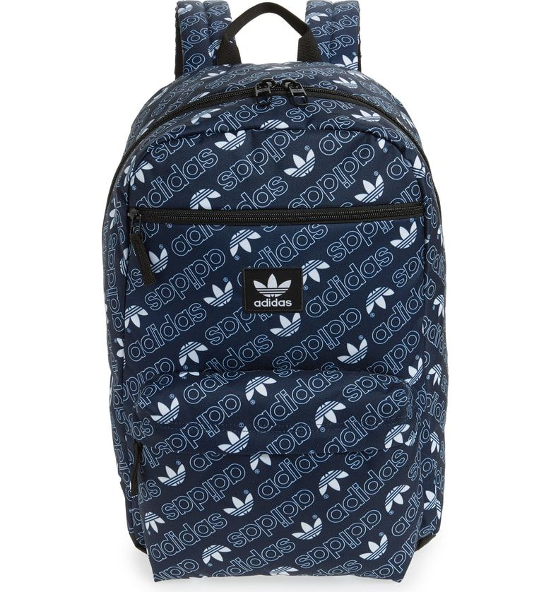 Adidas Originals Monogram National Backpack In Navy