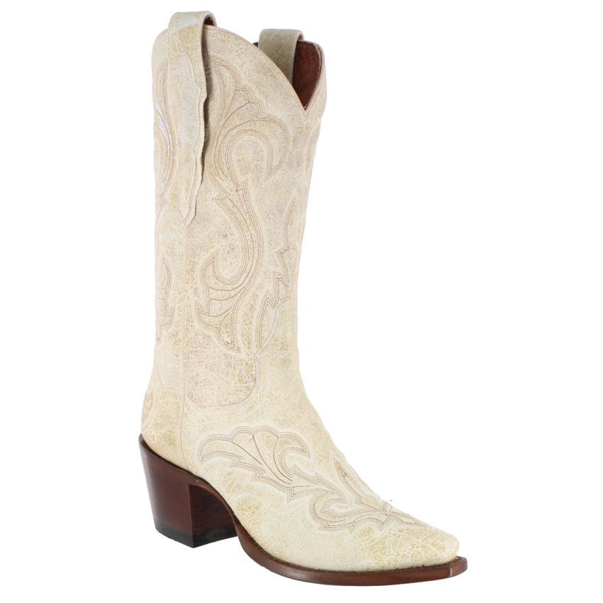 I searched high and low for a pair of white cowboy boots
