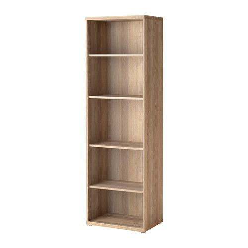 ikea best shelf unit white stained oak effect the shelves are adjustable so you can. Black Bedroom Furniture Sets. Home Design Ideas