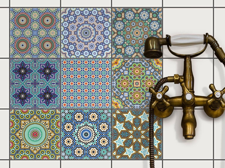 Mosaique murale | Carrelage Sticker Autocollant - carrelage adhesif ...