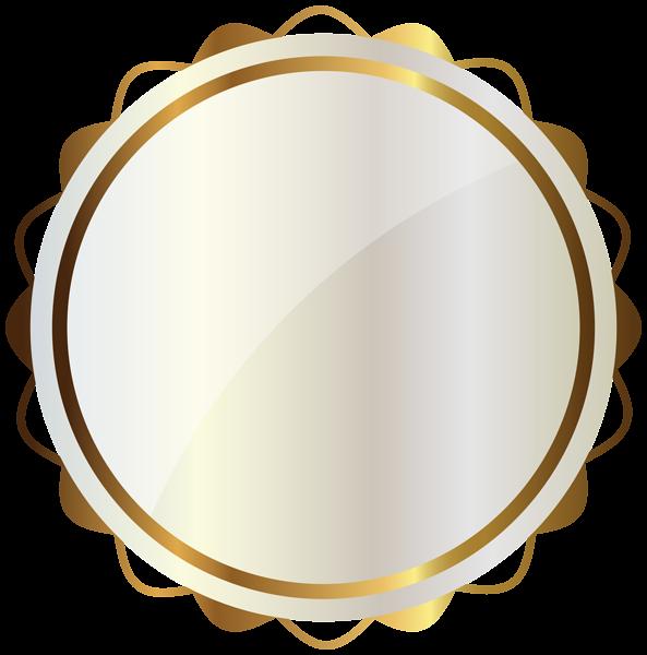 White Seal With Gold Decorations Png Clipart Image Bingkai Bingkai Foto Desain Logo Restoran
