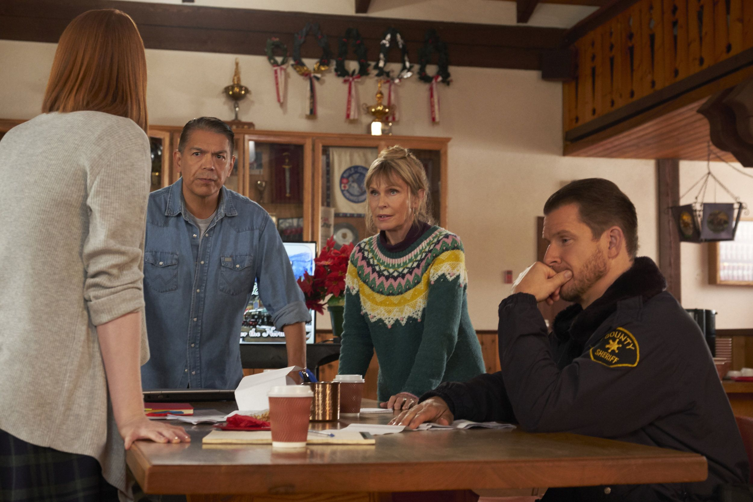 """Find out about the cast of the Hallmark Channel Original Movie """"Welcome to Christmas"""" starring ..."""