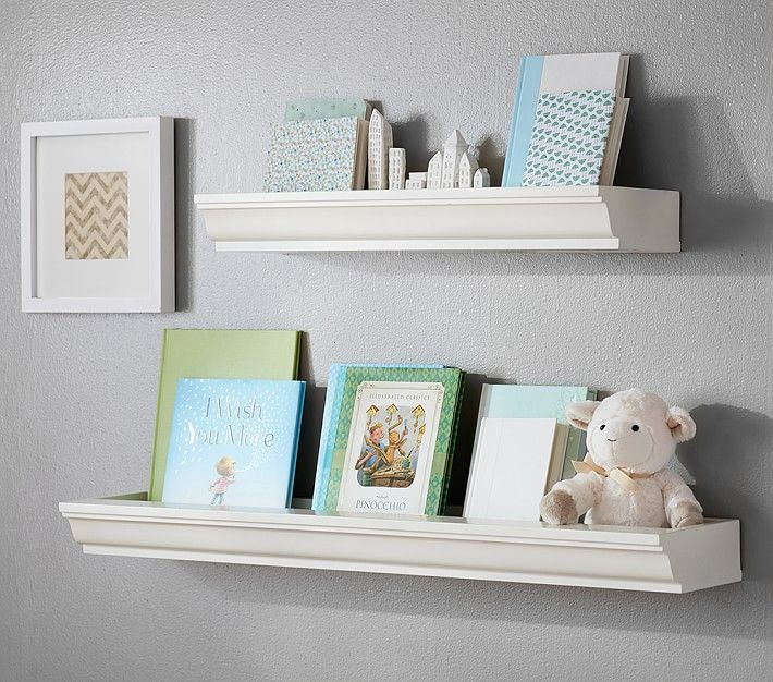 Pottery Barns Kids Features Decorative Wall Shelves Perfect For Organizing A Child S Room Find And Baby Create Stylish Storage