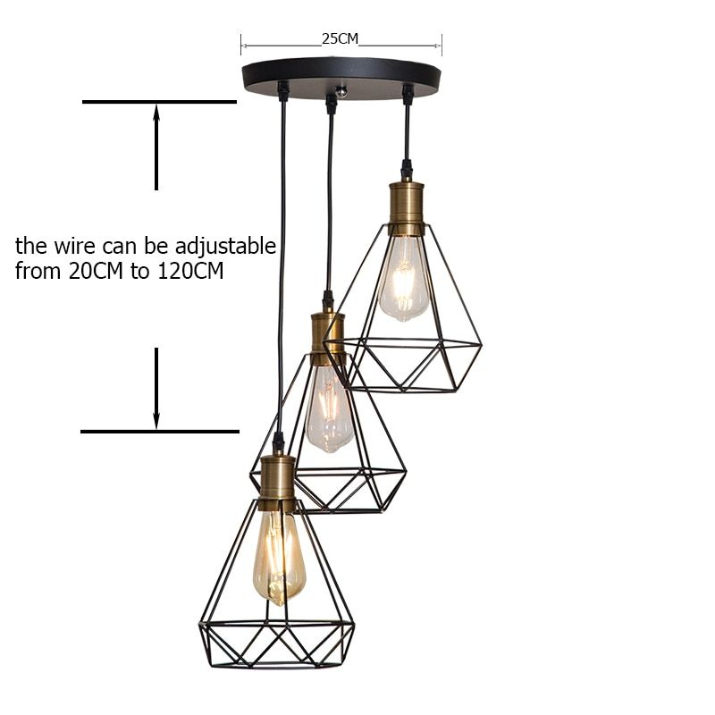 Vintage Cage Pendant Light Buy Cage Pendant Light Round Pendant Light Lamp Bases