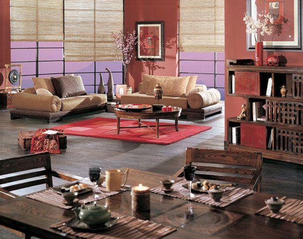 La Maison Coloniale, Sueños de China Décoration salon Pinterest - decoracion zen