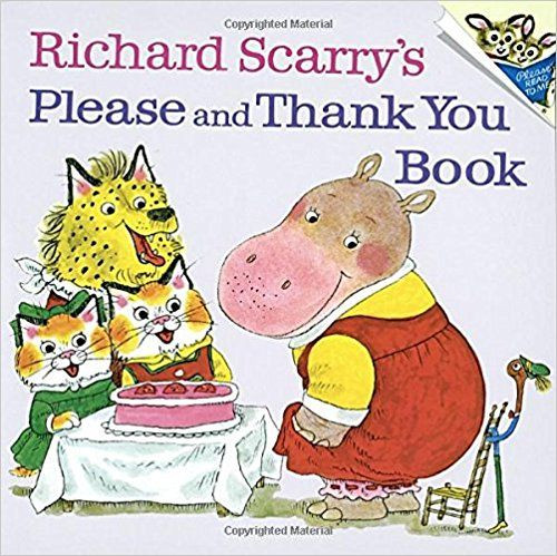 Richard+Scarry's+Please+and+Thank+You+Book+$2.46+{reg.+$4.99}