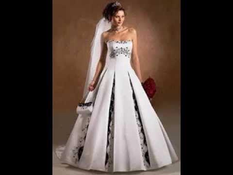 Blaue und weiße Brautkleider Blaue und weiße Hochzeitskleid Ideen ...