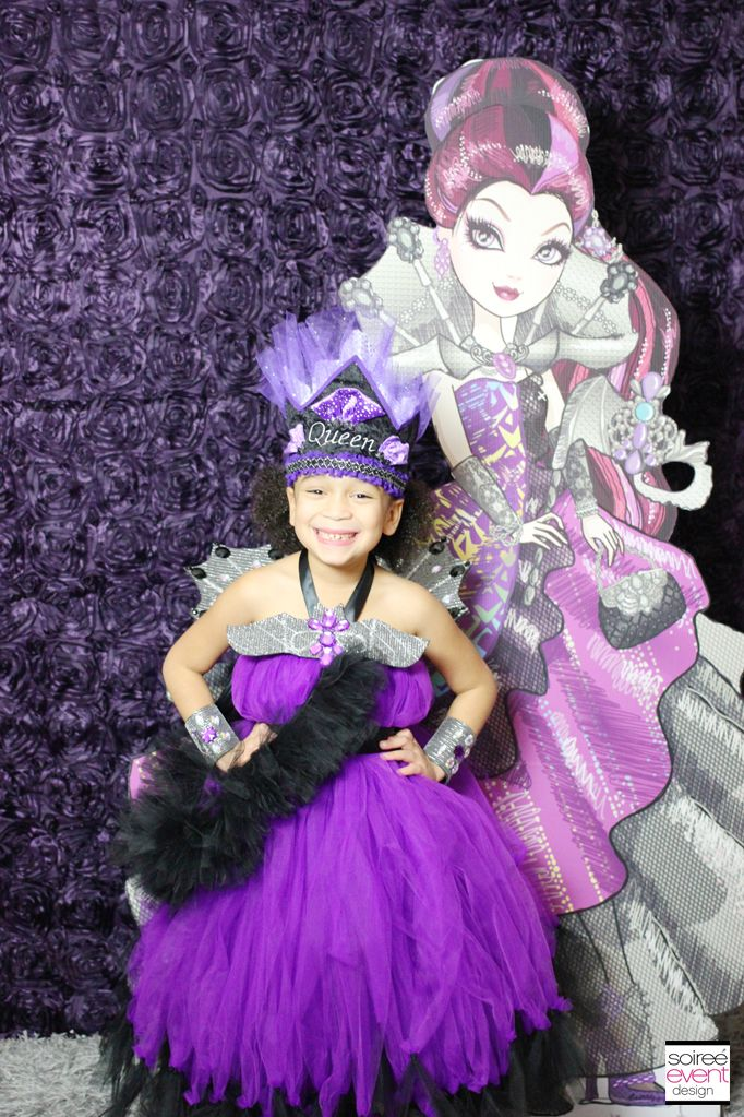 Ever After High Party: Raven Queen\'s Thronecoming   Pinterest ...