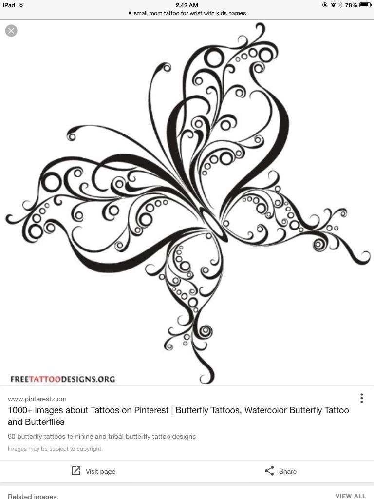 Pin by Janet Kappes-Crane on Mom tattoo ideas | Pinterest | Mariposa ...