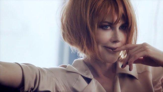 Jimmy Choo Debuts Short Film Starring Nicole Kidman Red Bob Haircut Bob Hairstyles Nicole Kidman