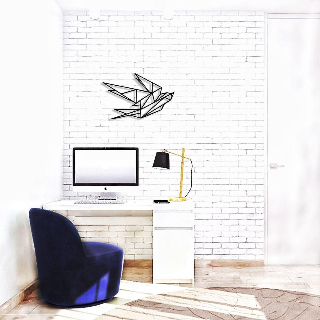 🌿 Геометрическая Ласточка-для уютизации вашего интерьера ...  Простой Интерьер Рисунок