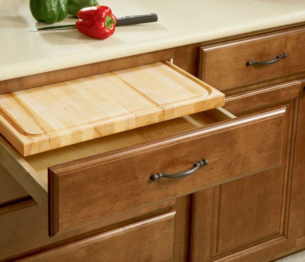 Cutting Kitchen Cabinets: A Place For Everything