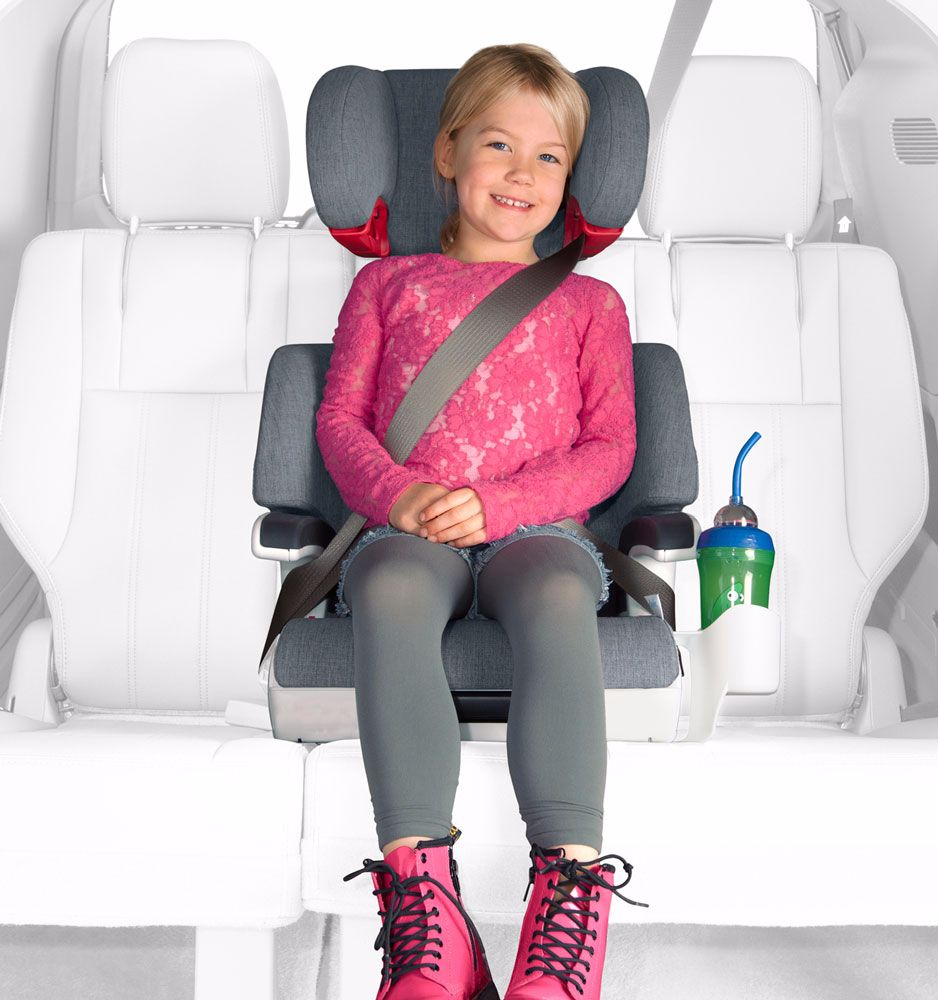 Clek Oobr Is A Full Back Booster Seat That Built Just Like The In Your Car But Sized For Child Features Rigid LATCH System And Unique Recline