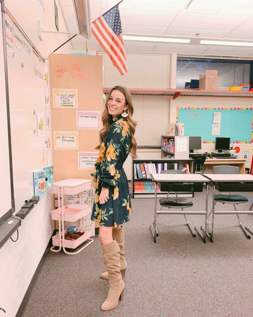 winter looks 27.27 - The Teacher Dress Code  Cute teacher outfits